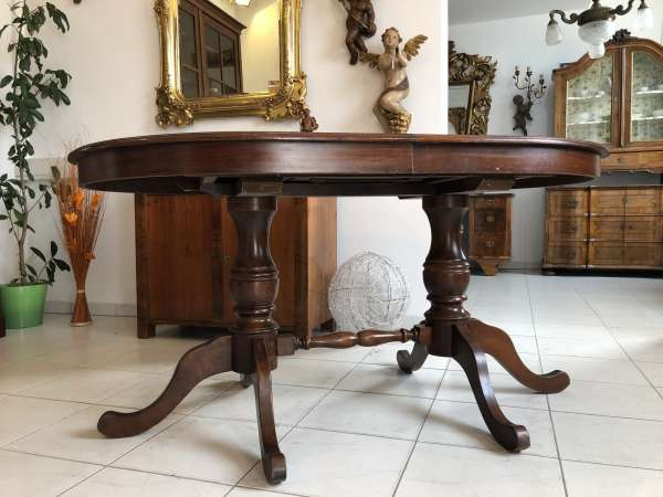 Auszugtisch Esszimmertisch Barockstil Tisch X2366