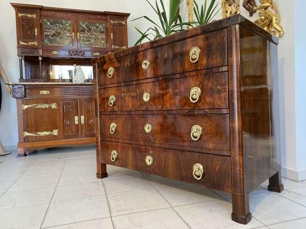 Biedermeier Schreibkommode Ladenkommode Original restauriert E2146