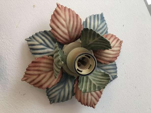 venezianischer Wandleuchter Blätterleuchter Blumenleuchter Z1688