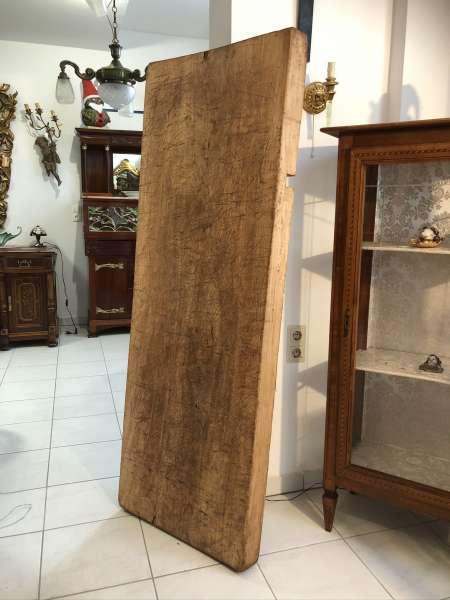 uriger Holzpfosten Tischplatte Altholz, Holzbrett, Regalbrett Z2327