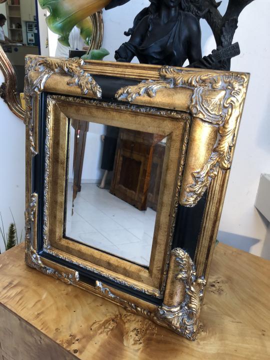 eckiger Wandspiegel Spiegel Barock Stil geschliffen ...