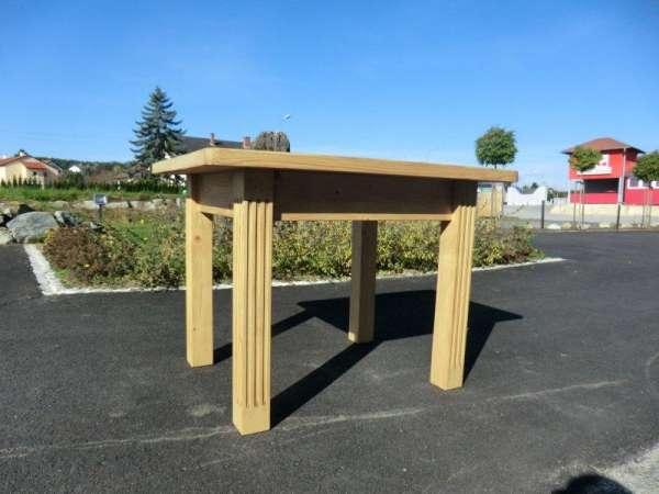 Bauerntisch Massivholz Landhaustisch Tisch Naturholz Nr.5969