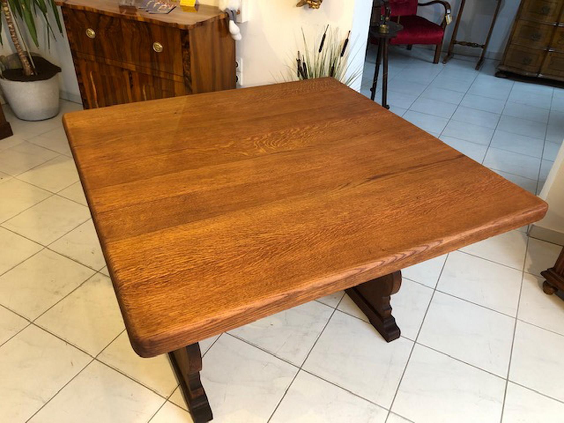 alter Bauerntisch Tisch Landhaustisch Eichenholz X2588 | Jogltische ...