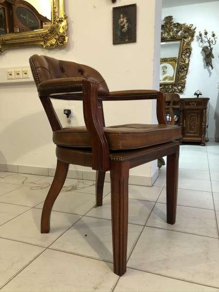 Chesterfield Armlehnstuhl Schreibtischstuhl Sessel Z2184
