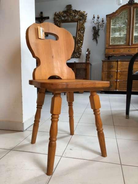 Bauernsessel Sessel Stuhl Landhaussessel Fichtenholz X2469