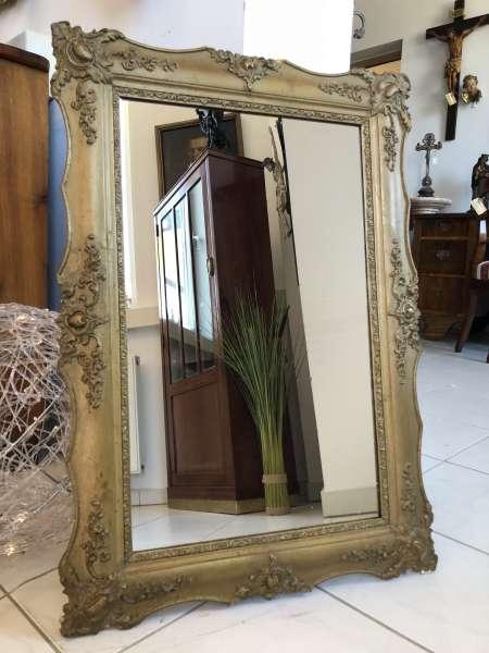 Biedermeier Spiegel Wandspiegel Original vergoldet - X2427