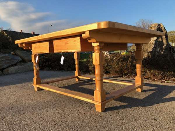 alter Bauerntisch Tisch Landhaustisch Naturholz Nadelholz X2572