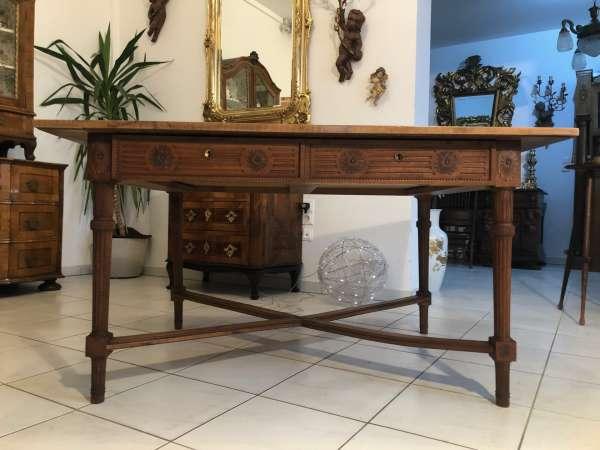 Jugendstil Tisch Esszimmertisch Tischerl braun Z1152