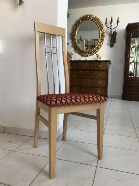 6 Stück restaurierte Stilsessel Esszimmerstühle W2241