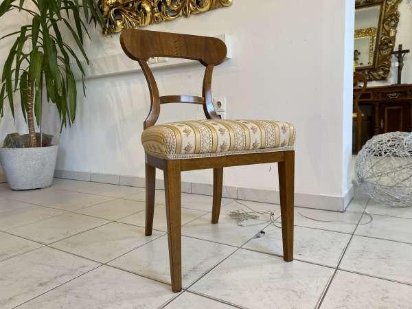 Biedermeier Sessel Schaufelsessel Stilmöbel E2386