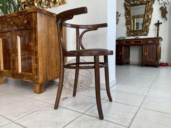 originaler Bugholzsessel Stuhl Sessel Armlehnstuhl Holzsessel A2150