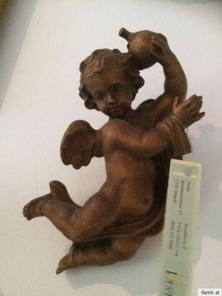 schwebende Engelsfigur Engel Holzfigur Holzschnitzerei Nr. 8362
