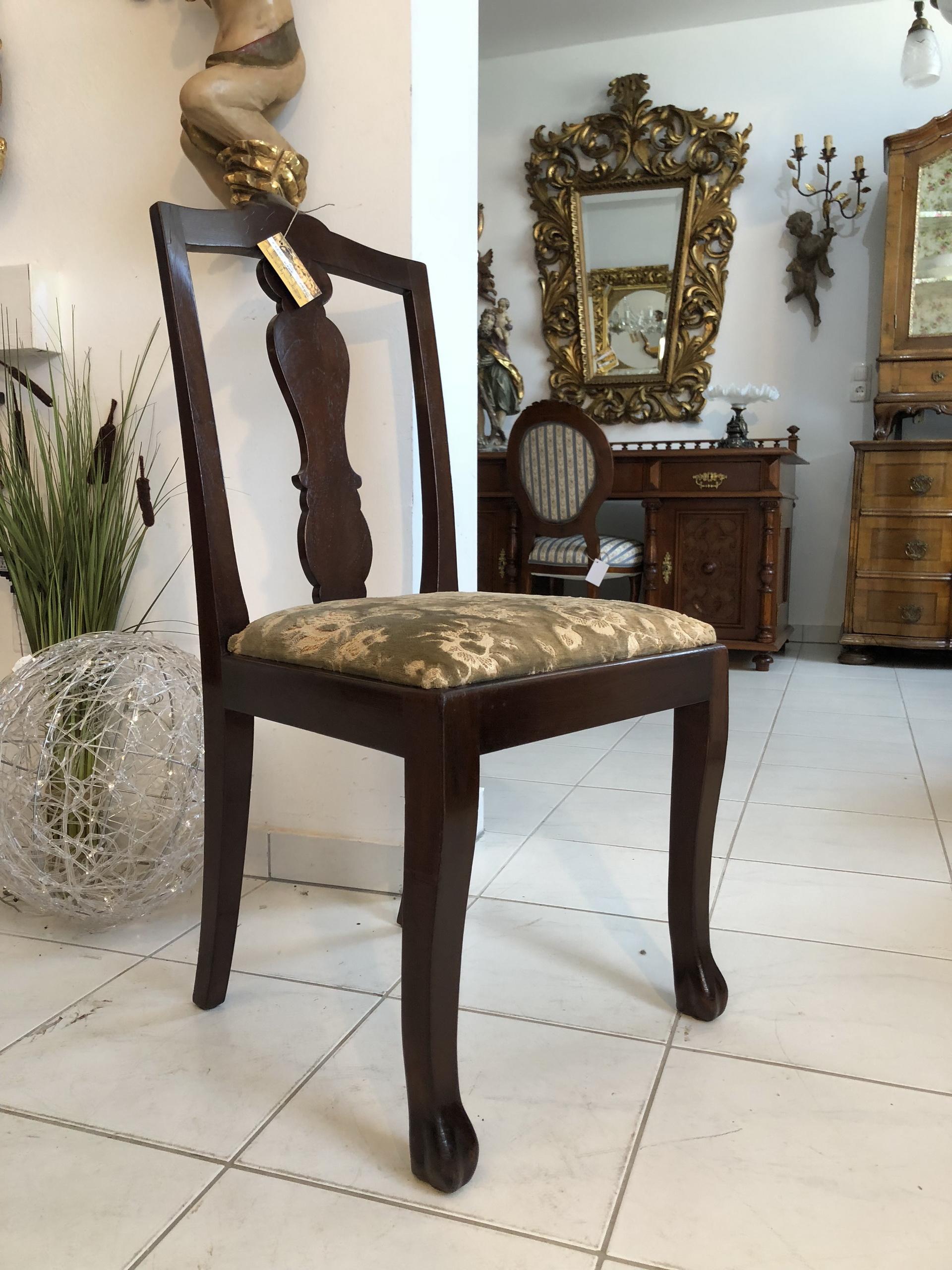 Chippendale Schreibtischsessel Stuhl Sessel X2215