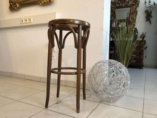 hübscher Hocker Stuhl Barhocker Rattangelfecht Z1750