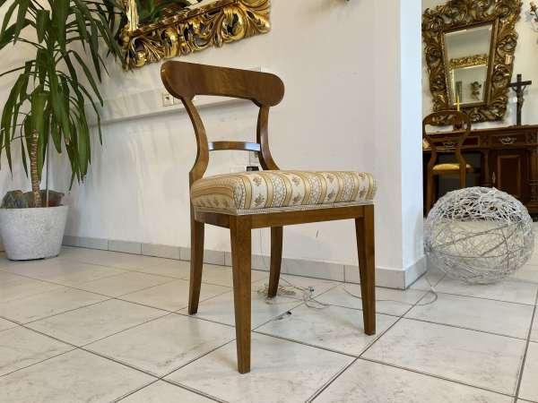 Biedermeier Sessel Schaufelsessel Stilmöbel E2387