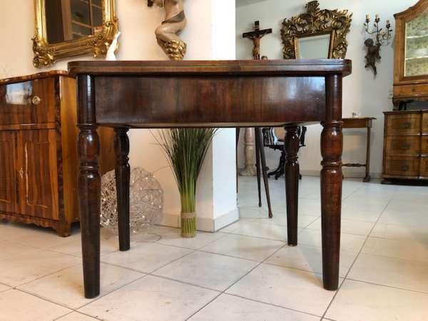 originaler Gründerzeit Spieltisch Tisch Schachtisch X2579