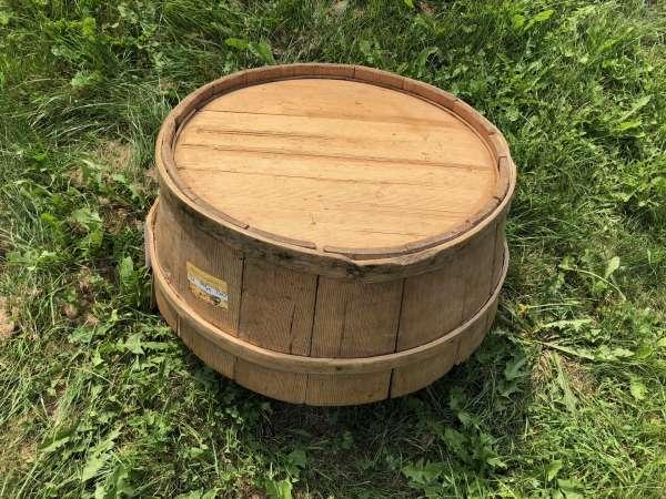 alter Holzschüssel Wasserschale Holzschale X2061