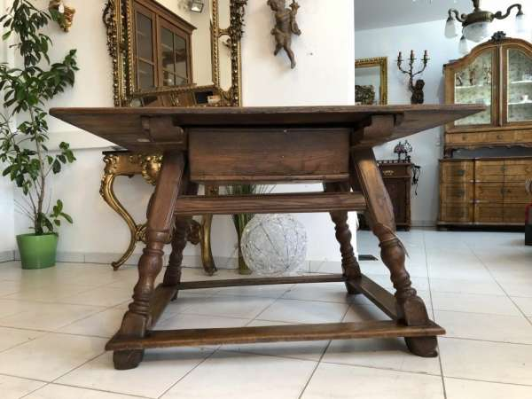 uriger Bauerntisch Tisch Landhaustisch Mischhölzer Fichtenholz X1621