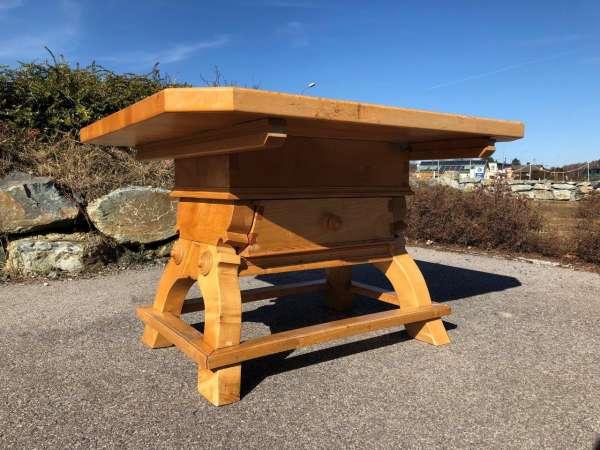 alter Jogltisch Tisch Bauerntisch Landhaustisch Masssivholz Z1232