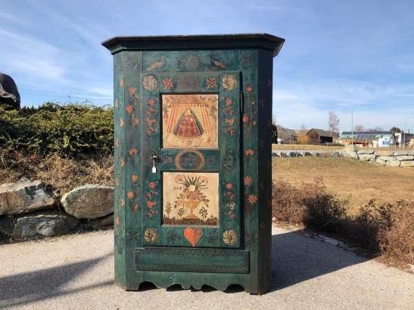 originaler Mariazeller Bauernschrank Bauernkasten gefaßt Z1241