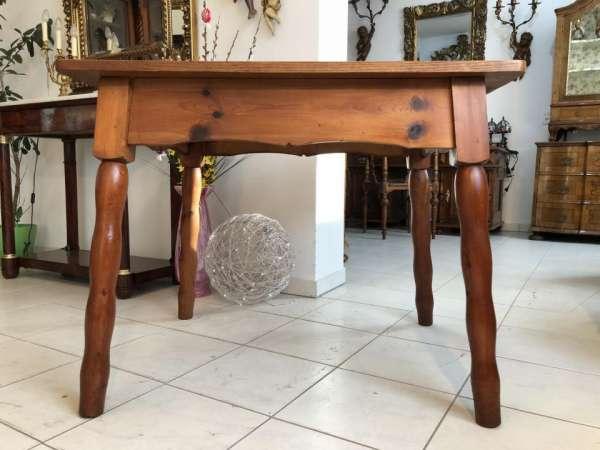 alter Bauerntisch Zirbenholz Tisch Bauernstube X1377