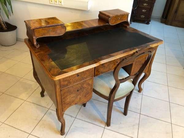 Originaler Biedermeier Schreibtisch Damenschreibtisch Z1051