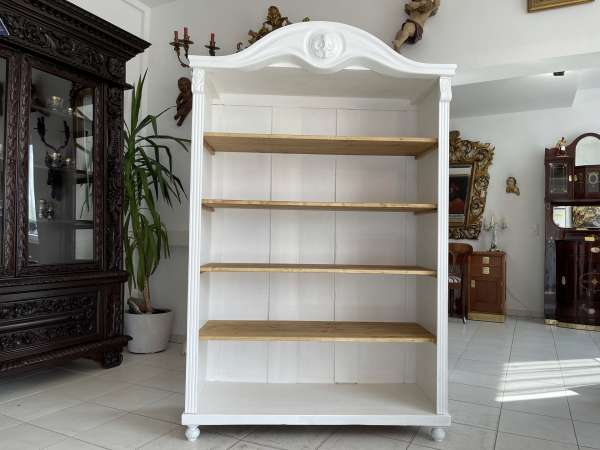 altes Bücherregal Stellage Gründerzeit Chabby Chic A2724