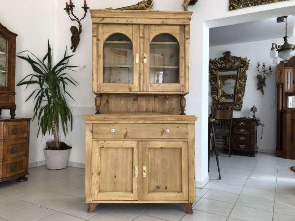 restaurierte Gründerzeit Küchenkredenz Küchenschrank Z1391