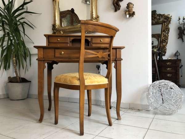 hübscher Stil Sekretär Schreibtisch Buchenholz Z1553