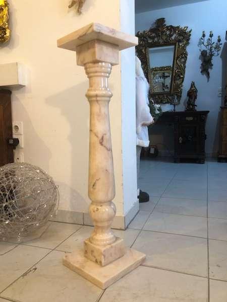 wunderschöne Marmor Postament Säule Podest X2756