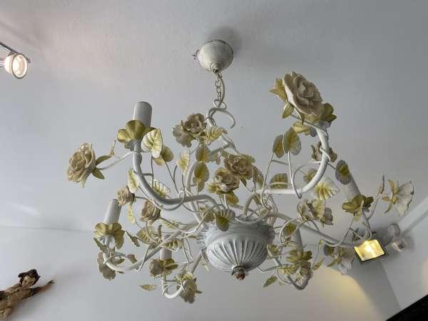 venezianischer Luster floraler Deckenleuchter Rosenluster A2614