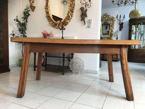 uriger Bauerntisch Tisch Altholz Couchtisch Hacktisch - W1553