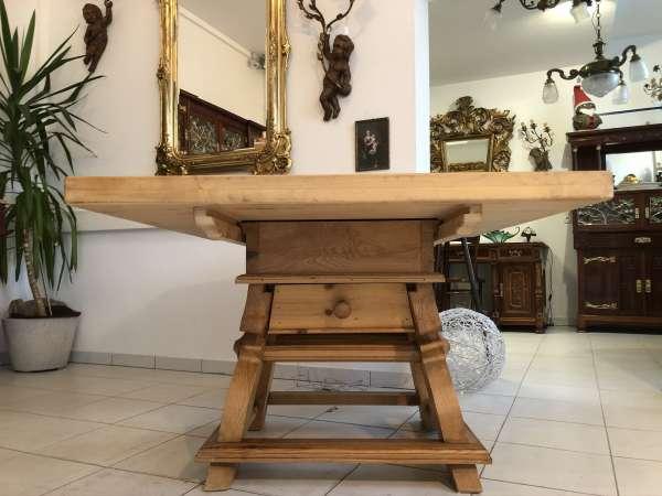 alter Bauerntisch Jogltisch Tisch Landhaustisch Naturholz Z2285