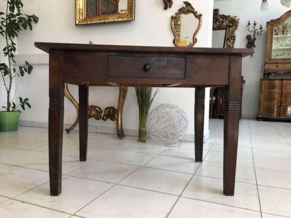 bäuerlicher Jugendstil Tisch Esstisch Beistelltisch X1889