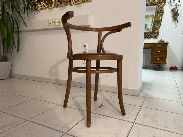 originaler Stuhl Sessel Bugholzsessel Armlehnstuhl Holzsessel A2188