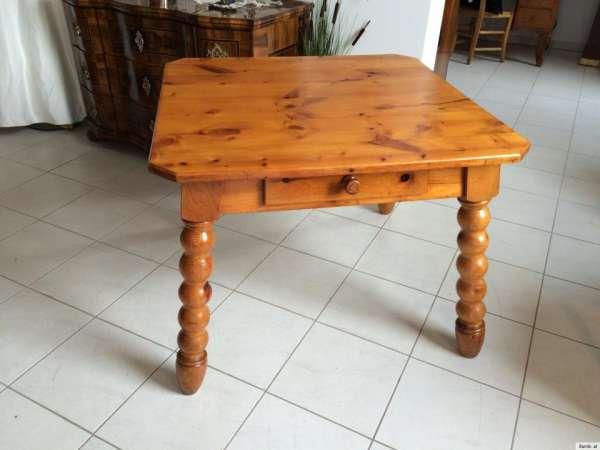 massiver Zirbenholz Bauerntisch Landhaustisch Tisch A1175