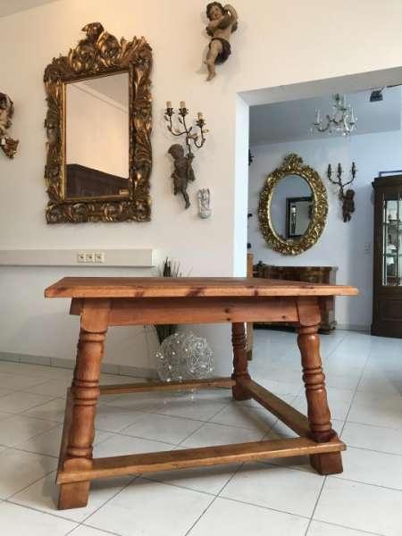 uriger massiver Zirbenholz Bauerntisch Landhaustisch Tisch W1927