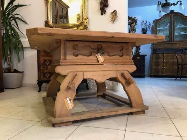 alter Jogltisch Tisch Bauerntisch Landhaustisch Naturholz Z1014