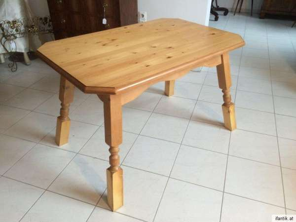 massiver Tisch Bauerntisch Jogltisch Landhaustisch Naturholz Nr. 7988