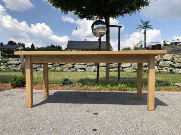 massiver Bauerntisch Tisch Landhaustisch Naturholz Stammtisch Z1670