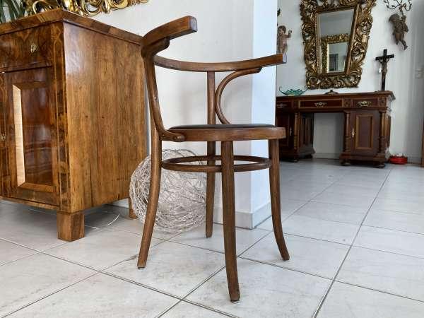 originaler Bugholzsessel Stuhl Sessel Armlehnstuhl Holzsessel A2151