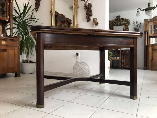 Jugendstil Tisch Esszimmertisch Tischerl braun Z1824