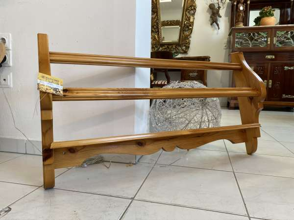 hübsches altes bäuerliches Zirbenholz Wandregal Stellage Kasterl E1872