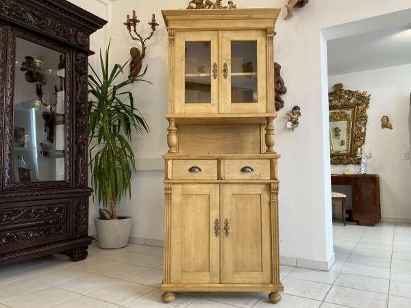 hübsches Küchenbuffet Küchenschrank Vitrine Landhausmöbel A2510