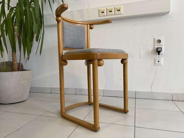 originaler Stuhl Sessel Bugholzsessel Holzsessel Wittmann E2009