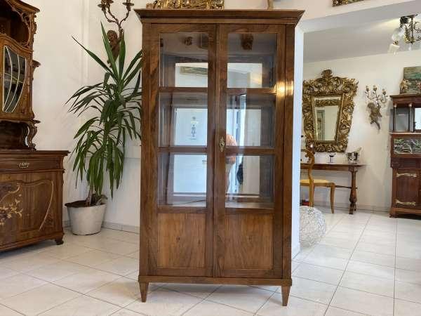 Traumvitrine Glasschrank Bücherschrank Stilvitrine Biedermeier E1682