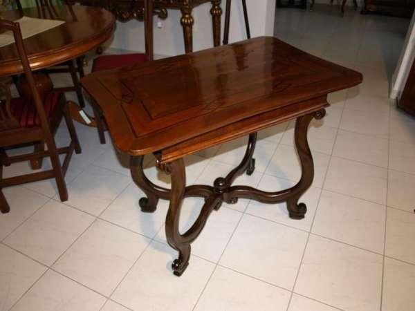 Barock Nussholz Tafeltisch Tisch Intarsiert Traumstück! Nr. 6170