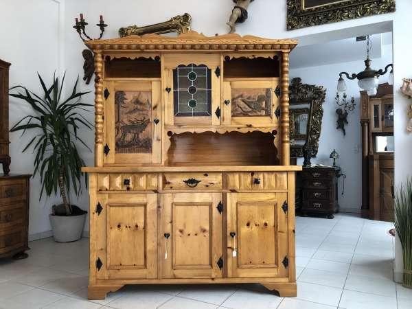Küchenbuffet Küchenschrank Zirbenholz Kasten Z1545