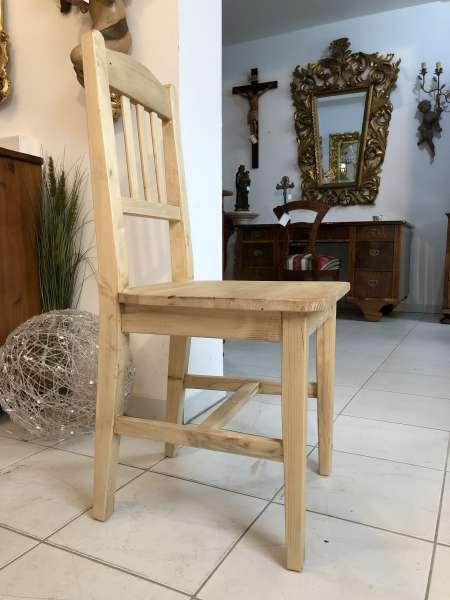 Bauernsessel Sessel Stuhl Landhaussessel Fichtenholz X2308