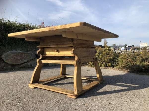 alter Bauerntisch Jogltisch Tisch Landhaustisch Naturholz Z2096